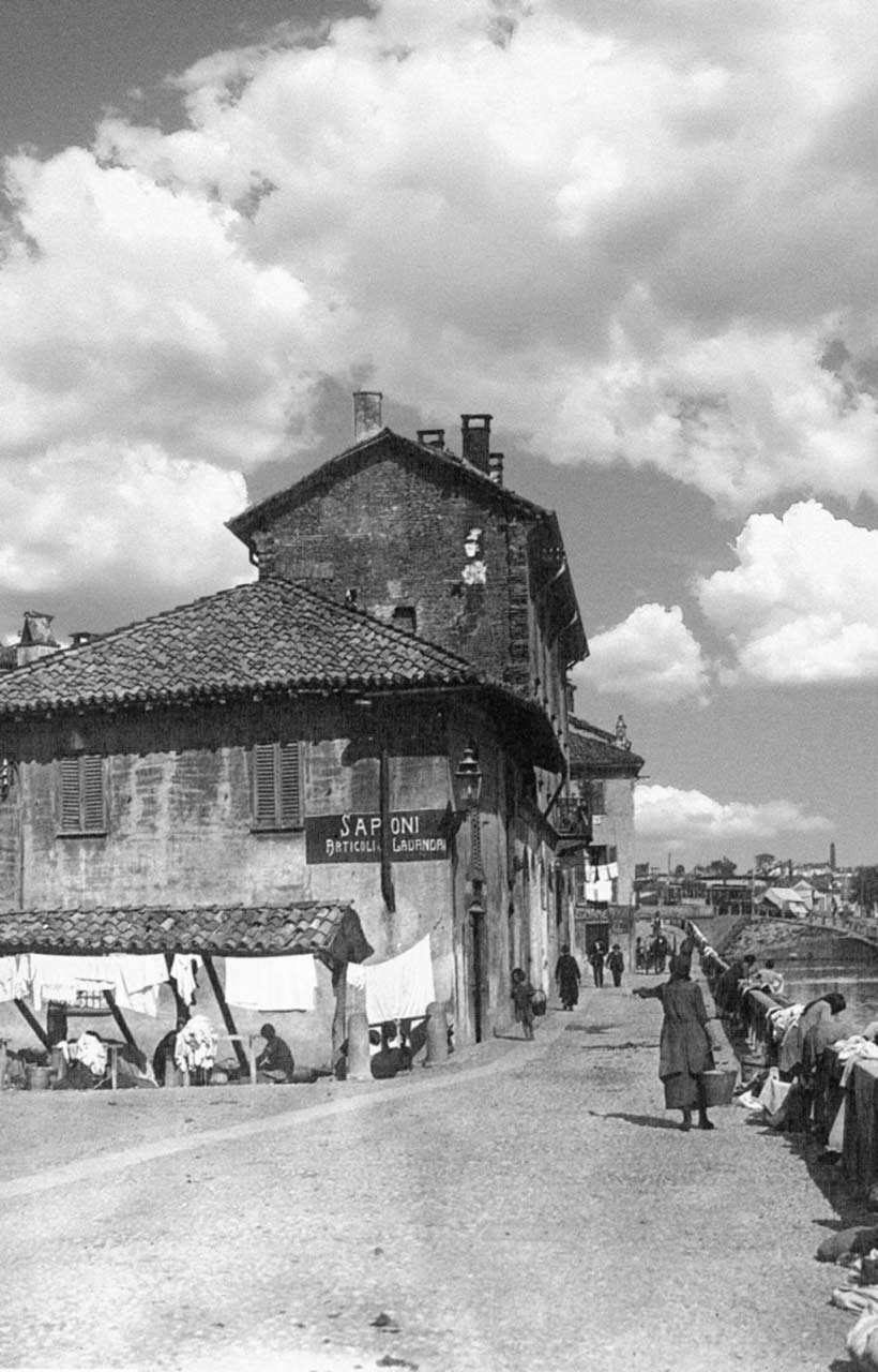 Foto storica del Vicol de Bugandée